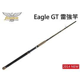 ◎百有釣具◎美國鷹牌Eagle GT 美式強悍的風格 雷強竿EGTCS821XH   ~送8鼓編織五色PE線100M