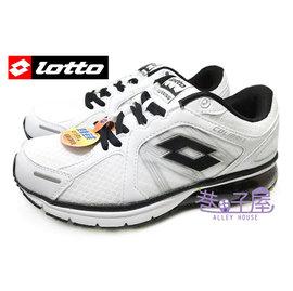 ~巷子屋~義大利第一品牌~LOTTO樂得 男 女款雙重避震氣墊 慢跑鞋  2638 261