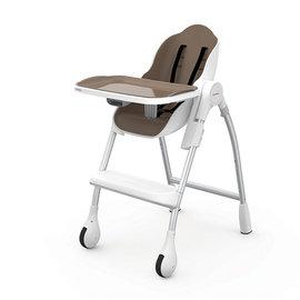 【紫貝殼】『DE10-3』Oribel Cocoon 時尚機能高腳餐椅 棕色【公司貨】贈【慕之恬廊 Mustela 多慕雙潔乳200ml】