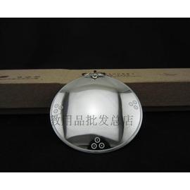 銀色小號直徑5厘米開光純銅八卦鏡 雙面凹凸鏡 凹面鏡 凸面鏡 風水銅鏡 辟邪鏡