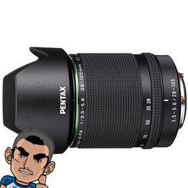 HD PENTAX~D FA 28~105mm 28~105 F3.5~5.6ED DC