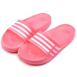 Adidas 女款 Duramo Slide 拖鞋 B35947~粉