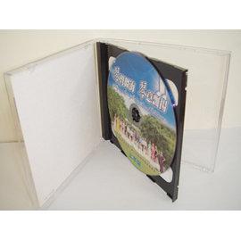 ~臺灣 ~10mm jewel case雙入款黑盤壓克力CD盒 DVD盒 光碟盒 CD殼