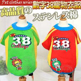 Petstyle~數字38 外星人寵物衣服