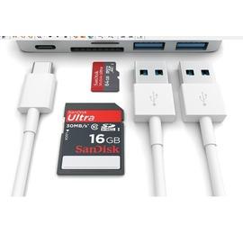 蘋果筆記本new MACBOOK12寸HUB集線器type~c USB~C轉換器16款