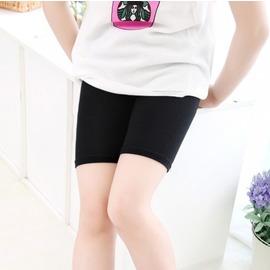 白色100cm^(100cm^(S碼(90~100cm)^)^)褲防走光中大童莫代爾兒童三