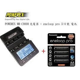 ~eYe攝影~MAHA POWEREX MH~C9000  eneloop pro 3 4