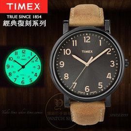 TIMEX美國第一品牌復刻系列簡約 腕錶T2N677 貨