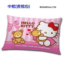 HELLO KITTY 我愛麻吉熊系列~中枕 三麗鷗