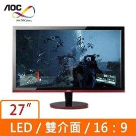 AOC G2778VQ 96 27吋^(16:9^)低藍光不閃屏電靜 液晶顯示器