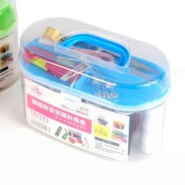家用針線盒套裝百寶箱 縫紉線縫補工具 便攜式迷你小針線包