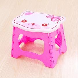款式三兒童折疊凳加厚塑料便攜椅子戶外釣魚凳 可愛矮凳火車馬扎