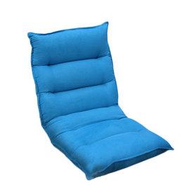 ~菲維爾傢俱~雲朵藍和室小沙發椅