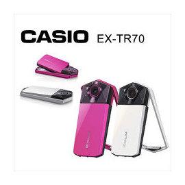 卡西歐 CASIO EX-TR70 數位相機 自拍神器 美顏 美肌 桃色