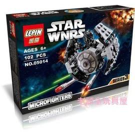 ^~老頑童玩具屋^~袋裝積木 星際系列 星際大戰7 抵抗軍X~TIE 原型戰機 STAR