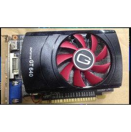 nVIDIA GT640 1G/1GB 128bit DDR3 PCI-E 3.0 全固態 獨立顯卡/顯示卡 (DVI+VGA+HDMI)