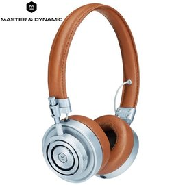 ~e~man~Master  Dynamic 高階密閉耳罩式耳機MH30S2^(棕 金屬銀