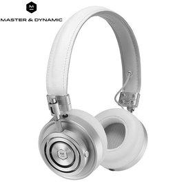 ~e~man~Master  Dynamic 高階密閉耳罩式耳機MH30S5^(白 金屬銀
