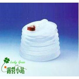 大林小草~【36003】GO SPORT 燈籠水桶/4GAL、水箱、摺疊水箱  -【國旅卡特約店】