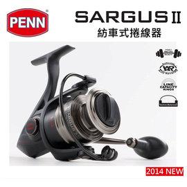 ◎百有釣具◎PENN  SARGUS II紡車捲線器 8000型~ 暢銷款全金屬機身
