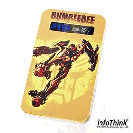 ^( 品^)InfoThink 變形金剛超薄行動電源 4200mAh ~ 大黃蜂產品、 ,