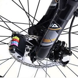 ~自行車電動車機車防盜碟刹鎖~送 碟煞鎖袋 可裝於車把上