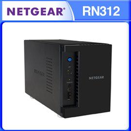 NETGEAR RN312 直立式 2BAY NAS 儲存伺服器 ReadyNAS 312