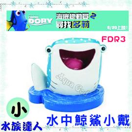 海底總動員2尋找多莉FINDING DORY《水中鯨鯊小戴(小)E-D2-FDR3》裝飾品公仔 【水族達人】