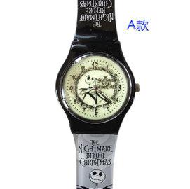 ~卡漫屋~ 聖誕夜驚魂 夜光 兒童錶 ㊣版 Jack 傑克 男錶 女錶 螢光 卡通錶 手錶