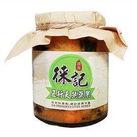 徠記 黃金泡菜~五行天然蔬果 480g玻璃 罐x3瓶冷藏含運