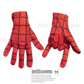 *紅蘋果的店*萬聖節.表演道具.聖誕節舞會.派對*超酷蜘蛛人布手套 1雙 兒童或手小成人#