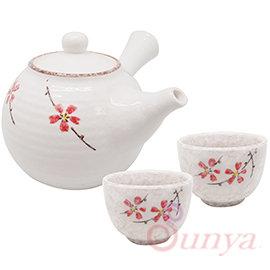 AE系列~018BC~A1222 松村窯冰裂釉1壺2杯 ^(陶瓷 茶壺 茶杯 水杯 泡茶