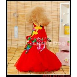 45 Design  寵物婚紗禮服訂做 7天到貨  狗狗裙子公主婚紗禮服小型犬服泰迪博美