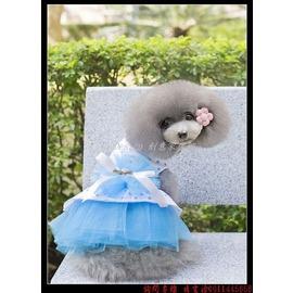 ^(45 Design^) 寵物婚紗禮服訂做 7天到貨  狗狗裙子公主婚紗禮服小型犬服泰迪