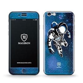 ~艾奇侖~反重力正反面吸力貼iPhone 6╱6S~太空人