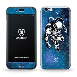 ~艾奇侖~反重力正反面吸力貼iPhone 6 Plus╱6S Plus~太空人