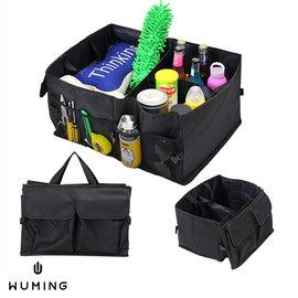 ~無名~ 車用 後車廂 後車箱 收納 置物 置物袋 折疊 摺疊 多 防水 多格 多口袋 K