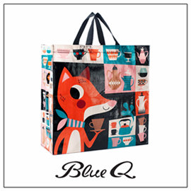 Blue Q 大 袋 ~ Foxy 狐狸小姐 ^(雙背帶款^)