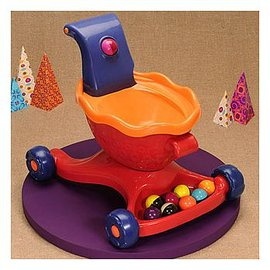 聰明媽咪~B.Toys 寶寶滾球學步樂~威尼斯紅