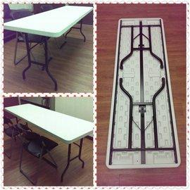 1~26折合式會議桌^(夾板桌面^)40年老店工廠直營