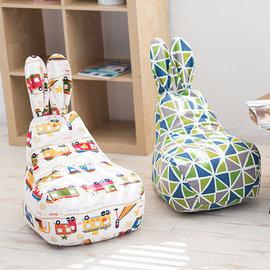 5Cgo ~ 七天交貨~41353921681 小沙發懶人兔子沙發日韓兒童可愛帆布沙發椅子