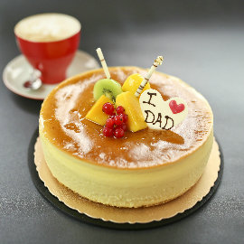~台中福華大飯店~父親節限定蛋糕~芒果乳酪蛋糕8吋