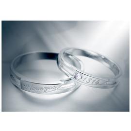 情侶戒指女銀質男 戒指飾品開口生日 (潮衣部落格)