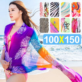 沙灘防曬雪紡百搭披肩 E311-EEYMS1860 (海灘遮陽絲巾披巾.海邊超大沙灘巾披紗沙灘裙.比基尼罩衫兩用保暖薄圍巾.專賣店特賣會推薦哪裡買)