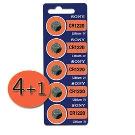 ~  4 1 ~SONY鈕扣型鋰電池  水銀電池 CR1220 ^( 製 SONY CR1