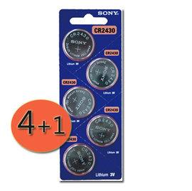 ~  4 1 ~SONY鈕扣型鋰電池  水銀電池 CR2430 ^( 製 SONY CR2