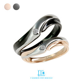 • FM Jewelry • 悠遊自在 情人款對戒 316L白鋼 戒指