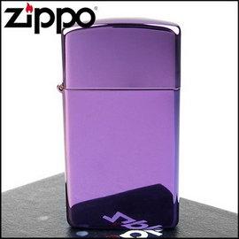 ◆斯摩客商店◆~ZIPPO~美系^~超 Abyss紫色鏡面打火機^(窄版^)NO.2812