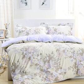 床包組 雙人~100^%純棉薄被套床包組 ikea風格 浪漫主義^~鴻宇^~~ML1356