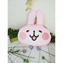 ^~^~Just71^~^~  絨毛娃娃 12吋 卡娜赫拉頭型抱枕 可愛 兔子 午安枕 嬰